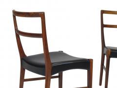 Johannes Andersen Johannes Andersen for Bernhard Pedersen Sons Rosewood Dining Chairs Set of 8 - 1047005