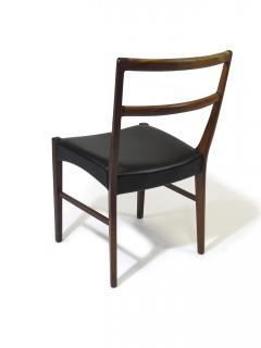 Johannes Andersen Johannes Andersen for Bernhard Pedersen Sons Rosewood Dining Chairs Set of 8 - 1047008