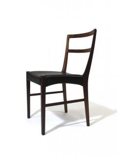 Johannes Andersen Johannes Andersen for Bernhard Pedersen Sons Rosewood Dining Chairs Set of 8 - 1047009