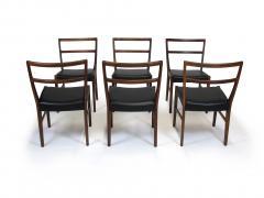 Johannes Andersen Johannes Andersen for Bernhard Pedersen Sons Rosewood Dining Chairs Set of 8 - 1047010