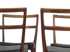 Johannes Andersen Johannes Andersen for Bernhard Pedersen Sons Rosewood Dining Chairs Set of 8 - 1047011