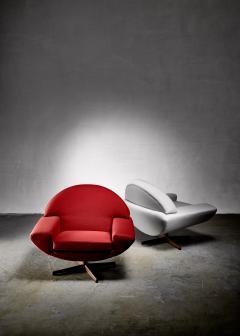 Johannes Andersen Johannes Andersen pair of Capri lounge chairs for Trensum 1960s - 1185902