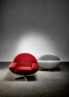 Johannes Andersen Johannes Andersen pair of Capri lounge chairs for Trensum 1960s - 1185904