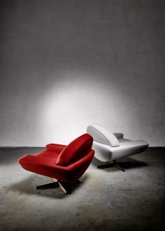 Johannes Andersen Johannes Andersen pair of Capri lounge chairs for Trensum 1960s - 1185990