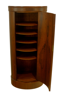 Johannes Sorth Bornholm Extraordinary Scandinavian Modern Rosewood Cabinet by Johannes Sorth Bornholm - 1633464