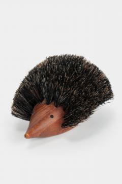 Johannesen teak hedgehog brush Denmark 60s - 1575707