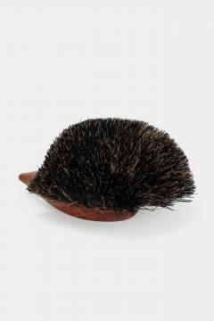 Johannesen teak hedgehog brush Denmark 60s - 1575721