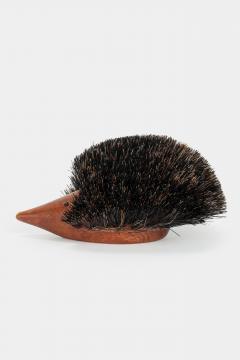 Johannesen teak hedgehog brush Denmark 60s - 1575722