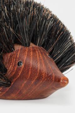 Johannesen teak hedgehog brush Denmark 60s - 1575738