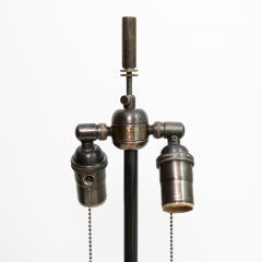 Johansfors Glasbruk PAIR OF JOHANSFORS GLASBRUK SPECKLED GLASS LAMPS SWEDEN - 1432005