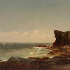 John Adams Parker Cliffs Along the Shore n d  - 64566