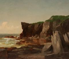 John Adams Parker Cliffs Along the Shore n d  - 64567