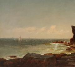 John Adams Parker Cliffs Along the Shore n d  - 64568