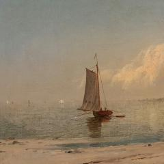John Adams Parker Heading out to Sea n d  - 64572