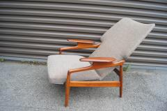 John Bone Reclining Teak Lounge Chair by John Bon  - 1546266