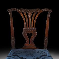 John Cobb Fine George II Chippendale Mahogany Side Chair - 919701