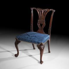 John Cobb Fine George II Chippendale Mahogany Side Chair - 919702