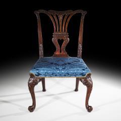 John Cobb Fine George II Chippendale Mahogany Side Chair - 919703