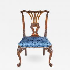 John Cobb Fine George II Chippendale Mahogany Side Chair - 920008