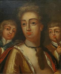 John Cooper A Woman and Her Children by John Cooper English 1695 1754 - 1187822