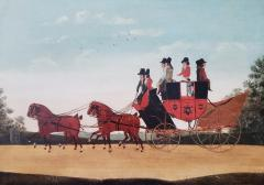 John Cordrey John Cordrey Coaching Painting The Rochester To Margate And London Coach  - 1618370