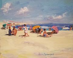 John Crimmins John Crimmins Painting East Hampton Summer  - 1255688