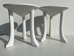 John Dickinson Pair Plaster African Tables - 1275697