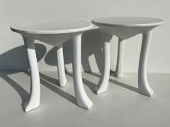 John Dickinson Pair Plaster African Tables - 1275698