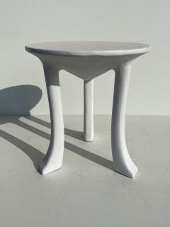 John Dickinson Pair Plaster African Tables - 1275700