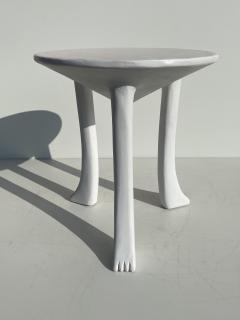 John Dickinson Pair Plaster African Tables - 1275701