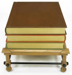 John Dickinson Pair of Rare John Dickinson Stacked Books End Tables - 277181