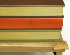 John Dickinson Pair of Rare John Dickinson Stacked Books End Tables - 277184