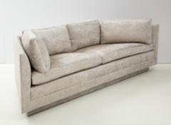 John Dickinson Rare 1970s Custom Designed John Dickinson Sofa - 2108689