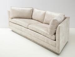 John Dickinson Rare 1970s Custom Designed John Dickinson Sofa - 2108692