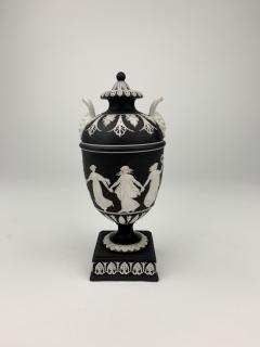 John Flaxman Wedgwood Dancing Hours Lidded Urn - 1375330