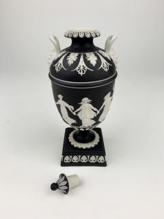 John Flaxman Wedgwood Dancing Hours Lidded Urn - 1375331