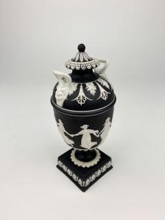 John Flaxman Wedgwood Dancing Hours Lidded Urn - 1375333