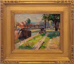 John Fulton Folinsbee Along the Canal New Hope  - 948455