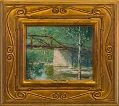 John Fulton Folinsbee Canal Bridge - 141604