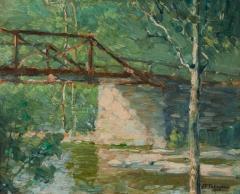 John Fulton Folinsbee Canal Bridge - 141822