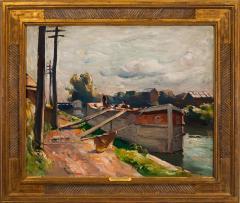 John Fulton Folinsbee Lehigh Barge - 141632