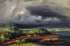 John Fulton Folinsbee Storm Over Chewonki - 1209253