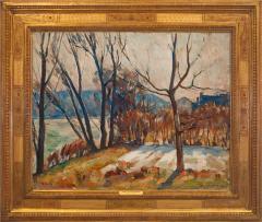 John Fulton Folinsbee Trees Along the River - 141658