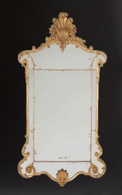 John Gumley A Fine George II Giltwood Mirror - 554900
