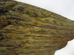 John Haley Bellamy Carved and Painted Wooden Eagle with Shield Attributed to John Haley Bellamy - 680072