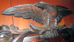 John Henry Belter 19th Century American Monumental Mirrored Mahogany Sideboard with Carved Eagle - 799547