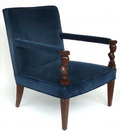 John Hutton John Hutton Donghia Rushmore Newly Upholstered Armchairs Pair - 1073850