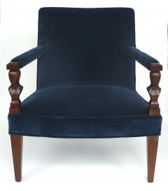 John Hutton John Hutton Donghia Rushmore Newly Upholstered Armchairs Pair - 1073852
