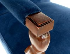 John Hutton John Hutton Donghia Rushmore Newly Upholstered Armchairs Pair - 1073861