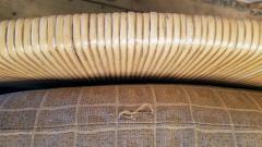 John Hutton Lounge Chair by John Hutton Donghia 1995 Mahogany and Cane - 2067605